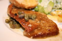 veal scallopini, this is excellent! I have used pork and chicken as well, and you could use beef flat steak too! Veal Scallopini, Veal Cutlet, Pork Cutlets, Italian Dishes, Italian Recipes, Italian Dining, Pork Dishes, Pasta Dishes, Veal Recipes