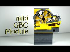 mini LEGO GBC Wheel Lift Module - YouTube