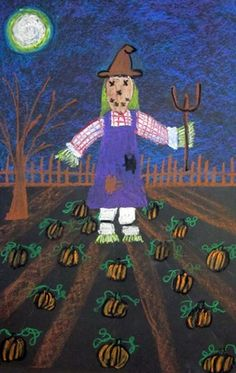 "From exhibit ""Halloween One-Point Perspective Pumpkin Patch""  by Anna5005"
