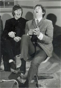 "Ringo and Paul "".......I get by with a little help from my friends...."""