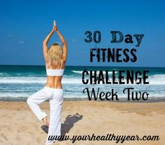 30 Day Fitness Challenge Ideas – Week Two.