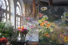 In the umpteenth hour of researching images for a feature on artist studios,I stumbled upon floral artist Claire Baslerand the 13th century French castle where she resides and works. Honestly, my initialreactionwas: this can't be real. It's thatfantastical. Giant floral and tree