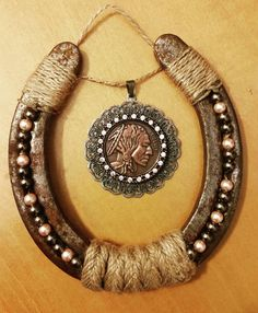 Decorative Horseshoe by TRSCustoms on Etsy