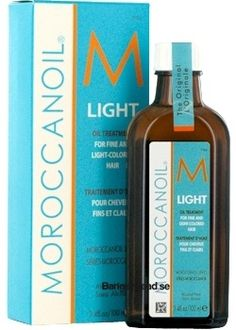 Moroccan Oil Light Oil Treatment - It's amazing for fine hair!