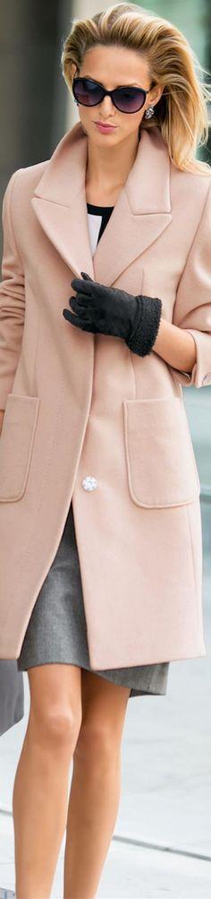 Madeleine Pink Coat