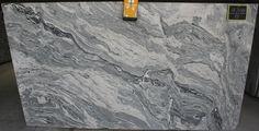 supplier of granite slabs for kitchen countertops near Philadelphia. Cheap Countertops, Concrete Countertops, Kitchen Countertops, Viscount White Granite, Grey Kitchen Island, Granite Slab, Granite Worktops, Stone Slab, Countertop Materials