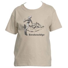 Ski Breckenridge, Colorado Vintage - Youth/Kid's T-Shirt