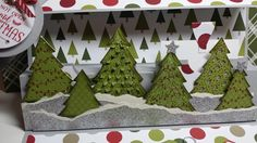 Stampin up - Peaceful Pines gift card/note card #Christmas #stampinup #merrymoments #greetingcards #giftcardholder