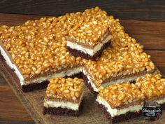 Szyszkowy Król Polish Recipes, Polish Food, Cake Bars, Sweets Cake, Homemade Cakes, Cake Cookies, Cake Recipes, Bakery, Good Food