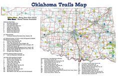 Trail Riding - Oklahoma Trail Map