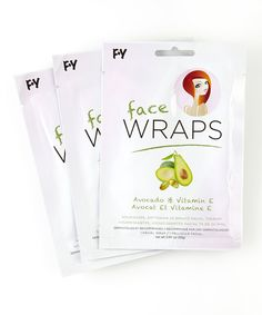 Look what I found on #zulily! Avocado & Vitamin E Face Wraps Pack by My SpaLife #zulilyfinds