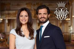 Amid wedding plans and various celebrations, the king announced a princess will join Sweden's royal family. Prince Carl Philip and his fiancee Sofia Hellqvist (shown here with their official monogram) announced on May 12 their new Prinsparets stiftelse (Prince Couple's Foundation), a charity that promotes and supports children and youth, in anticipation of their wedding on June 13, 2015. Gift givers are encouraged to donate to the foundation. Photo Kungahuset.se