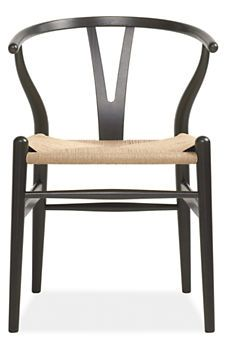 Introduced in 1950, Hans Wegner's Wishbone chair is one of the Danish modernist's most identifiable designs.