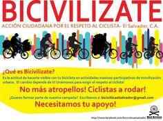 Accion Ciudadana por el respeto al ciclista
