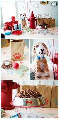 Puppy Dog Party Ideas via The Cake Blog!