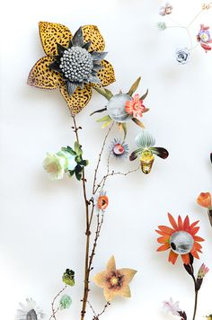 Anne Ten Donklelaar Flower Constructions
