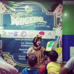 Dongeng for Charity di RSUP Fatmawati ^^