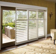 Vertical Blinds For Patio Doors Patios Best Home Design Ideas · Sliding  Door Window TreatmentsWindow ...