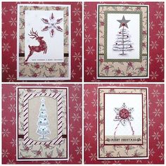 Olga Helge Cardmaking, Advent Calendar, Merry, Lovers, Kit, Holiday Decor, Creative, Cards, Inspiration