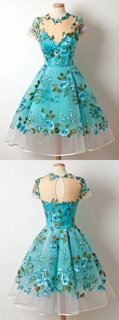 Aunque no sea muy de vestir mona, delicada y adorable estos vestidos estilo hadita del bosque me chiflan #homecomingdresses
