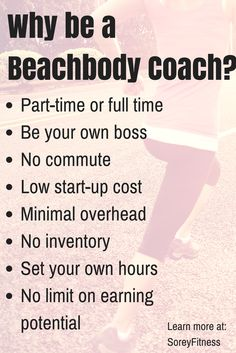 Basics About Making an Income as a Beachbody Coach and how to get started coaching www.beachbodycoach.com/ashleyscott30
