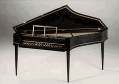 "A very early fortepiano- I thought I knew about pianos before I began researching ""The Magic Piano"""