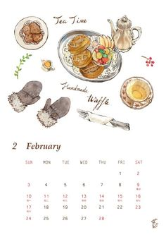 Paint Calendar, Graphic Illustrations, Handmade, Painting, Hand Made, Painting Art, Paintings, Painted Canvas, Drawings