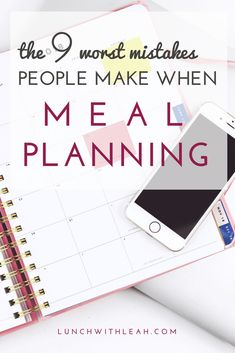 Does the idea of meal planning overwhelm you? Let me outline the 8 most common meal planning mistakes people make so that you can avoid them! Money Saving Meals, Save Money On Groceries, Get Healthy, Healthy Eating, Healthy Weekly Meal Plan, Meal Planning Board, Weights For Beginners, Save On Foods, Meal Prep For The Week