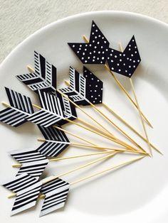 DIY Las flechas de Cupido para San Valentin