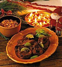 Marinera julens revbensspjäll i lime och honung som ger ljuvlig smak åt köttet. Bjud mango-salsa till, ett spännande tillbehör, som du också får recept till här.