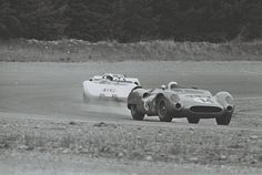 Dave MacDonald, #14 King Cobra, Leads Jim Hall, #66 Chaparral, Kent, Washington, May 1964 | by The Henry Ford
