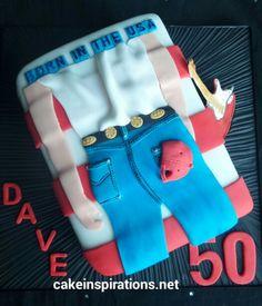 Bruce Springsteen fans cake