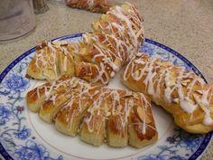 homemade bear claws. my day just got BETTER! Gwen's Kitchen Creations.