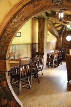 The Green Dragon Inn, #Hobbiton, #NewZealand. Going to get myself a pint!