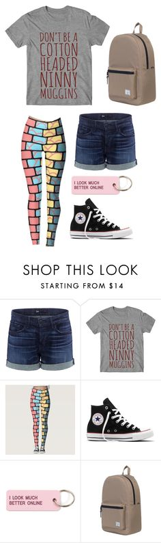 At The Mall by invisableintrovert on Polyvore featuring 3x1, Converse, Herschel Supply Co. and Various Projects
