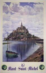 Le Mont-Saint-Michel / L. Pécheux ; Pierre Dubure. – Paris : Chemins de Fer de l'État, - (Affiches Gaillard, Paris-Amiens)., XXe siècle.