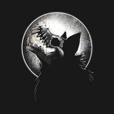 Dark Art Drawings, Animal Drawings, Cool Drawings, Scary Wolf, Dessin Old School, Werewolf Art, Halloween Artwork, Drawn Art, Mythical Creatures Art