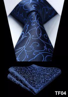 Men's Silk Coordinated Tie Set - Blue Swirl – Uylee's Boutique Tie Set, Pocket Square, Really Cool Stuff, Cufflinks, Men Clothes, Mens Fashion, Silk, Consideration, Handmade