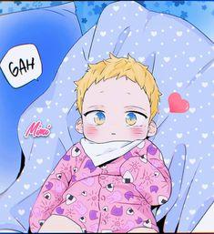 Anime Boy Hair, Anime Child, Manga Anime, Otaku Anime, Manhwa, Cute Anime Pics, Cute Anime Couples, Bl Webtoon, Familia Anime