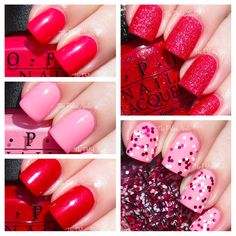 OPI Couture de Minnie Collection Swatches