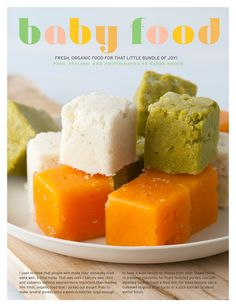 Great kids and baby food ideas