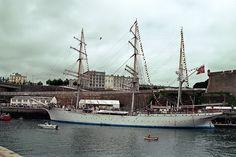 Statsraad Lehmkuhl at Brest 1992