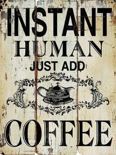 Instant Coffee Wall Art @H A L E Y |  V A N  |  L I E W D'Orsane
