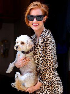 ANIMAL INSTINCT photo | Jessica Chastain #style #fashion #prints