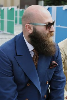 42 Dapper Beard Styles for Bald Men Beard-Styles-for-Bald-Men-Bald-Men-with-Beards Bald Men With Beards, Bald With Beard, Great Beards, Long Beards, Awesome Beards, Full Beard, Badass Beard, Epic Beard, Beard Game