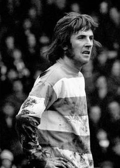 Stan Bowles playing for QPR in 1974.