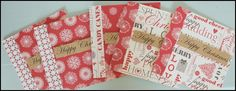 Handmade Set of 5 Christmas Cards £5.00