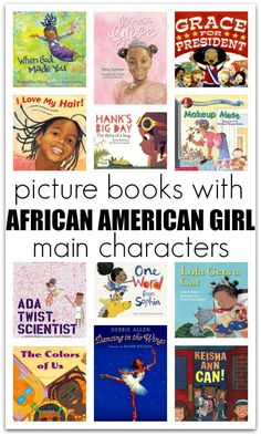 Picture Books with African American Girl Main Characters