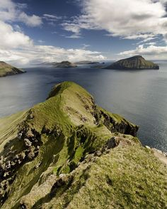 #Norðadalur Hiking Fyri Vestan in the Faroe Islands