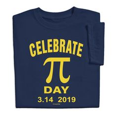 eafa2224 National Pi Day March 3.14 2019 T-shirt $19.99 Pi Day Shirts, Golf Shirts